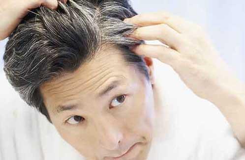 Седеют волосы - что делать?