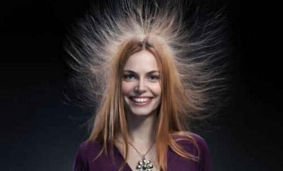 Что делать, электризуются волосы