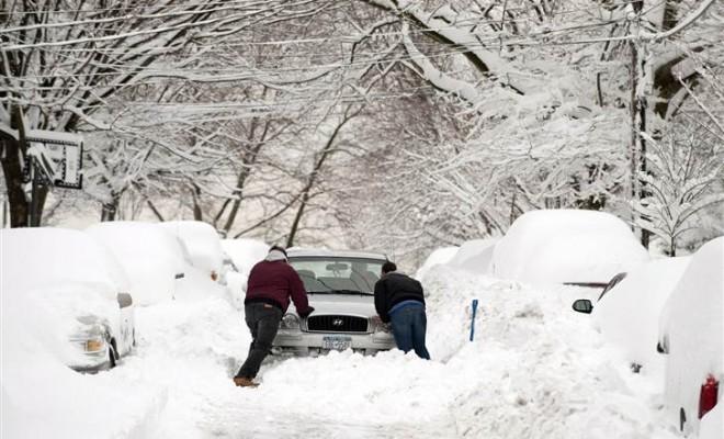 Автомобиль застрял в снегу что делать