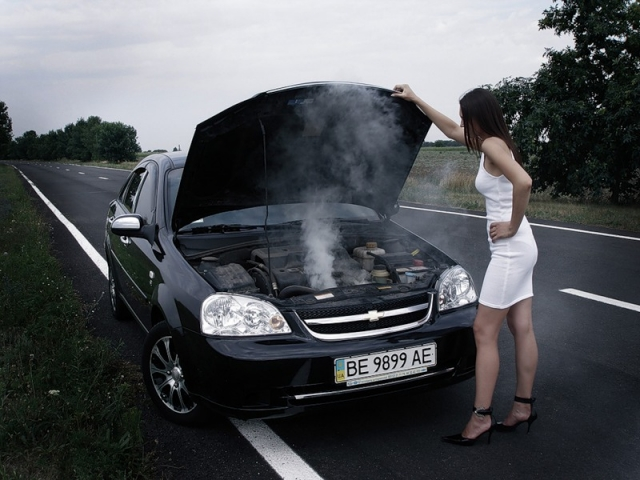 Что делать, если двигатель перегрелся?